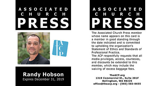 Get Your ACP Press Pass
