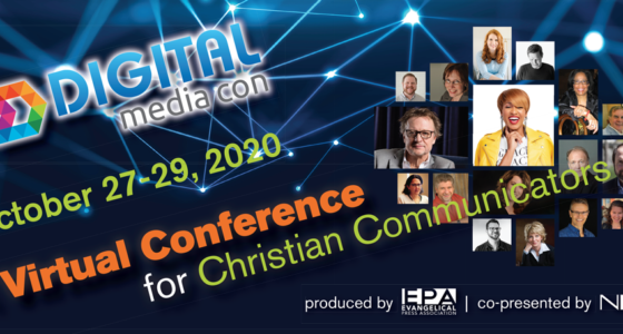 Invitation to Digital Media Con Livestream Event